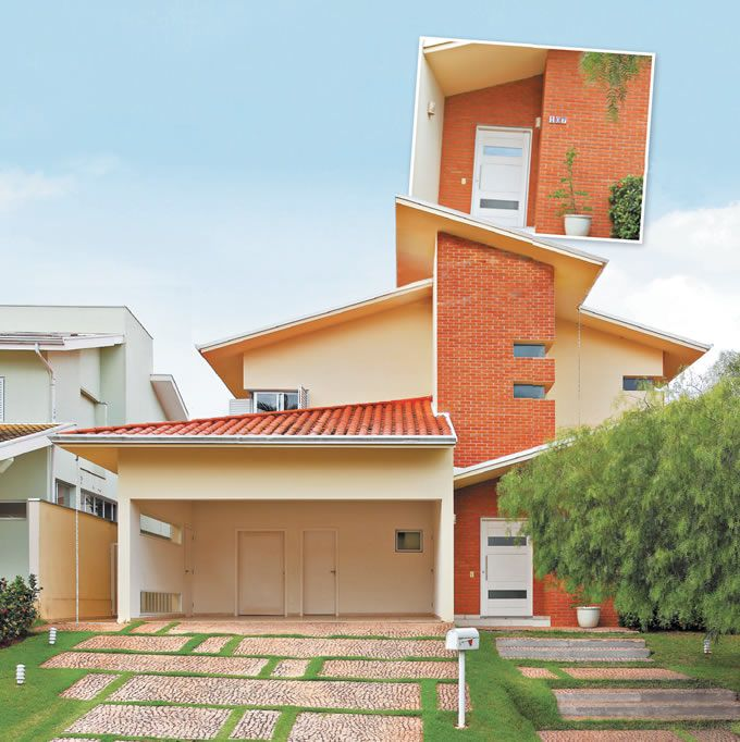 Fachadas de casas modernas confira fotos e dicas dicas for Fachadas de casas modernas em belo horizonte